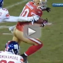 Kyle Williams Fumbles, 49ers Lose