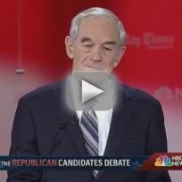 Florida Debate Highlights: Ron Paul Edition!