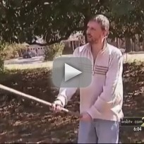 Guy Stops Burglars With Shovel