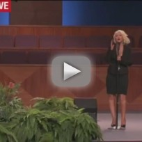 Christina Aguilera - At Last (Etta James Funeral)