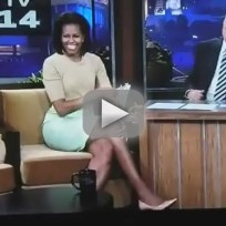 Michelle Obama Tonight Show Interview, Part II