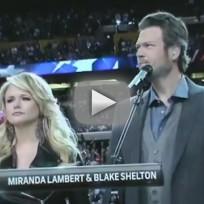 Miranda Lambert and Blake Shelton - America The Beautiful