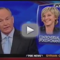 Bill O'Reilly Argues in Favor of Ellen, Company Rights