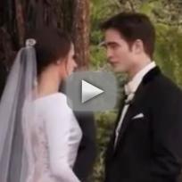 Breaking Dawn Wedding Sneak Peek: Behind the Scenes