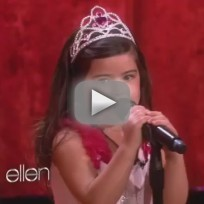 Sophia grace and rosie moment 4 life live on ellen