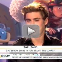 Zac Efron Today Show Interview