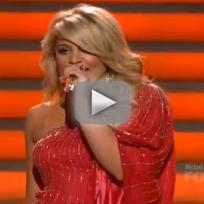 Lauren alaina georgia peaces american idol results show