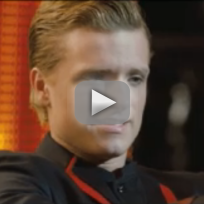 The Hunger Games Clip: Crushing on Katniss