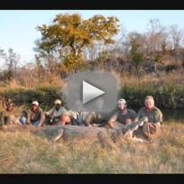 Donald trump kids go hunting kill elephant photos