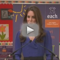 Kate Middleton First Speech