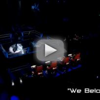 "Gwen Sebastian vs. Erin Willett - ""We Belong"" (The Voice Battle Round)"