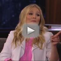 Kristen bell talks the hunger games