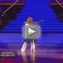 Jaleel white and kym johnson rumba dwts week 3