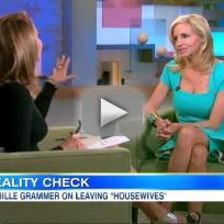 Camille Grammer on Good Morning America