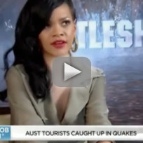 Rihanna Sunrise Interview With Natalie Barr