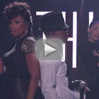 Jennifer hudson and ne yo think like a man american idol results