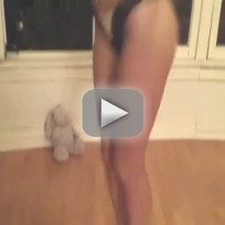 Courtney Stodden Jumps Rope