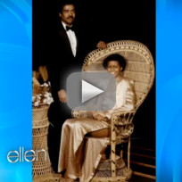 Michelle Obama on Ellen - Prom Dress Comparison
