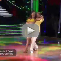 Maria menounos and derek hough salsa dwts week 5