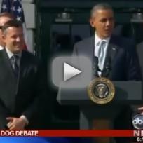 Obama-Romney Dog War