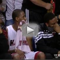Shaquille oneal analyzes miami heat fart