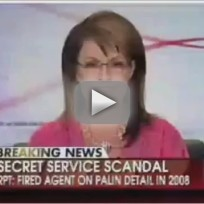 Sarah Palin on Secret Service Scandal