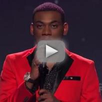"Joshua Ledet -""Crazy Little Thing Called Love"""