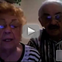 Grandparents Give Wedding Toast, Advice