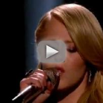 "Hollie Cavanagh - ""Bleeding Love"""