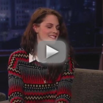 Kristen Stewart on Jimmy Kimmel Live (Part 1)