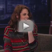 Kristen Stewart on Jimmy Kimmel Live (Part 2)