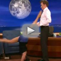 Nina Dobrev on Conan