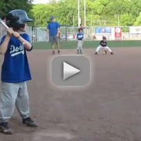 Six-Year-Old Unassisted Triple Play
