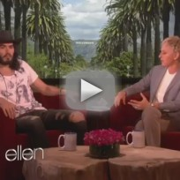 Russell Brand on Katy Perry (Ellen Interview)
