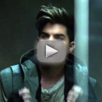 Adam lambert video tease