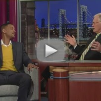 Will Smith on The Late Show