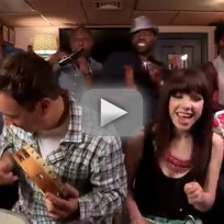 Carly rae jepsen and jimmy kimmel call me maybe
