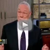 "Colin Powell Sings ""Call Me Maybe"""