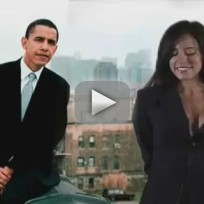 Obama girl crush on obama