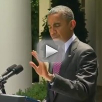 Reporter Interrupts Obama