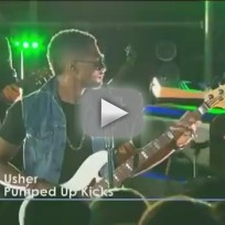 Usher - Pumped Up Kicks (Live)