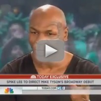 Mike Tyson Today Show Interview