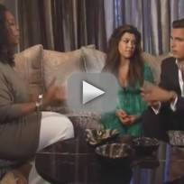 Kourtney Kardashian and Scott Disick on Oprah