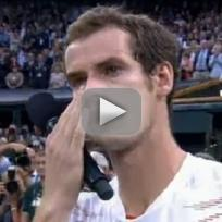 Andy Murray Runner-Up Speech at Wimbledon