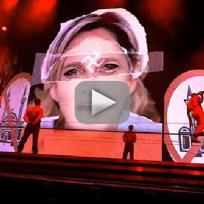 Madonna Swastika Usage [Live in Paris]