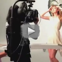 Taylor Swift CoverGirl Commercial: Behind the Scenes