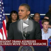 Barack Obama Addresses Colorado Shooting