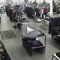 Flash Mob Steals Jeans