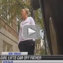 Lauren Kornacki Lifts Car, Saves Father