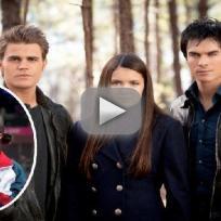 Vampire Diaries Stars to Gabby Douglas: Good luck!